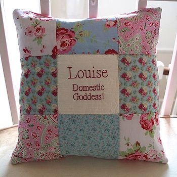 'Domestic Goddess' Cushion