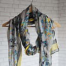 Butterfly Design Scarf
