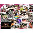 Photo Montage Of Holiday Memories Canvas