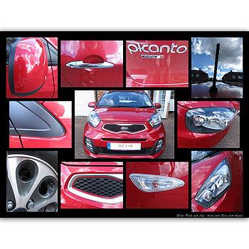 My Pride And Joy Car Photo Montage Canvas