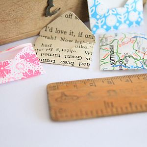 Set Of Five Mini Envelopes