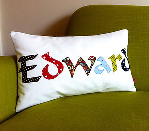 Personalised Named Cushion - cushions