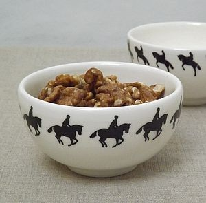 Horseback Rider Small Bowl