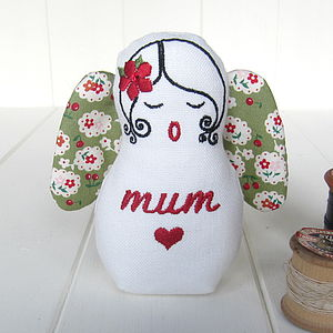 Personalised 'Mum' Guardian Angel
