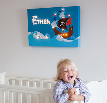 Personalised Illuminated Canvas