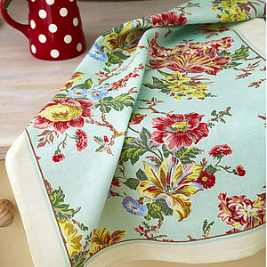 Amelia Linen Tea Towel - kitchen accessories