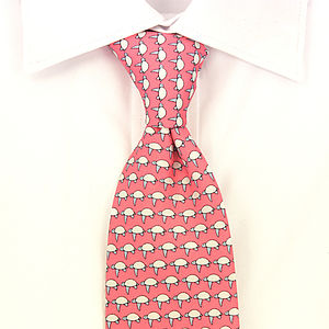 Men's Sea Turtles Handmade Silk Tie
