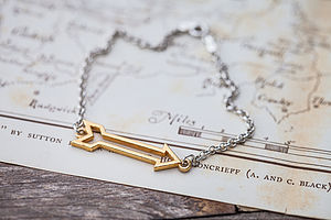 Gold Arrow Bracelet - for her
