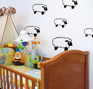 Sheep Wall Stickers - wall stickers