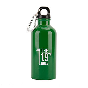 19th Hole Golfer's Water Bottle