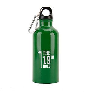 19th Hole Golfer's Water Bottle