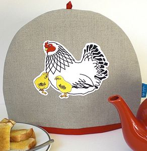 Mother Hen And Chicks Tea Cosy