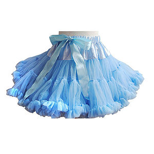 Camilla Sky Blue Pattiskirt