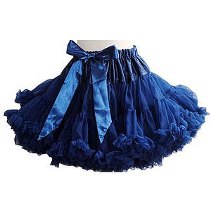 Camilla Navy Blue Pettiskirt - christmas clothing & accessories