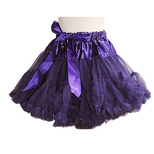 Camilla Dark Purple Pettiskirt