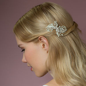 Stella Crystal Hair Comb - bridal hairpieces