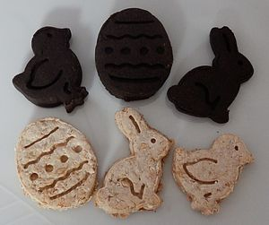 Easter Biscuit Treats For Dogs
