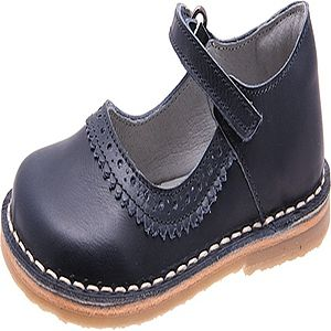 Oscar Knepp School Shoes For Girls With Velcro Strap - shoes & footwear