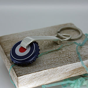 Personalised Sterling Silver Bottle Opener