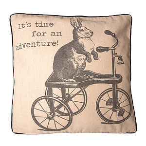 It's Time For An Adventure Cushion - cushions