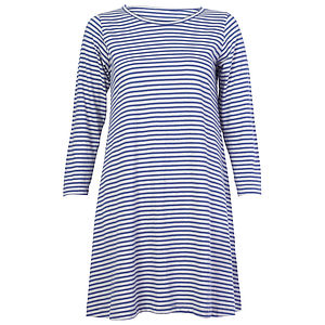 Blue Striped Cotton Tunic