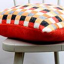 Halva Knitted Lambswool Cushion