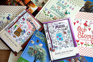 Personalised 'Journals Of A Lifetime' Covers - notebooks & journals
