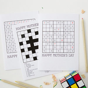 Personalised 'Mother's Day' Puzzle Cards - view all sale items