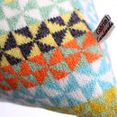 Fleur Knitted Lambswool Cushion