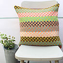 Blume Knitted Lambswool Cushion