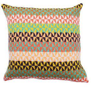 Blume Knitted Lambswool Cushion - cushions