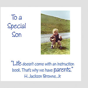 Son Greeting Card
