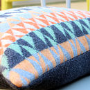 Pelt Knitted Lambswool Cushion