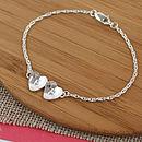 personalised bridesmaid gift bracelet