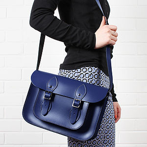 Leather Satchel Small