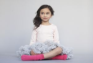 Pale Grey Tutu Skirt