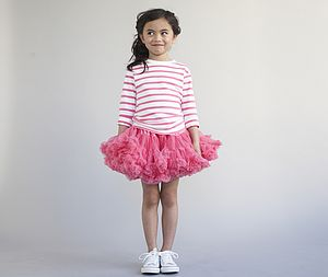 Watermelon Pink Tutu Skirt