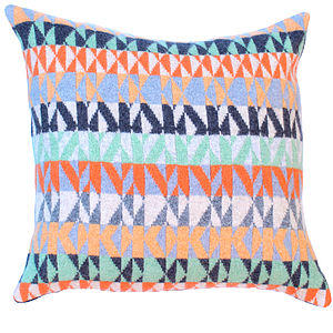 Pelt Knitted Lambswool Cushion - cushions