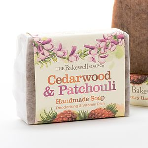 Cedarwood And Patchouli Moisturising Soap - beauty & pampering