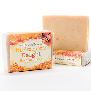 Beekeeper's Delight Goats Milk And Honey Soap - bath & body