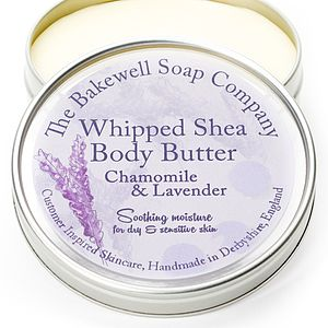 Chamomile Lavender Whipped Shea Body Butter
