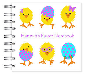 Easter Chick Notebook