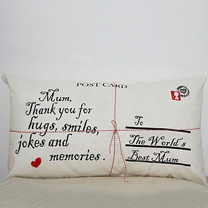 Personalised Postcard Cushion Cover - last-minute christmas decorations