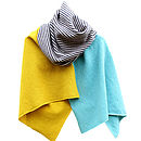 Alexander Knitted Lambswool Wrap