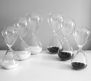 Contemporary Glass Kitchen Timers