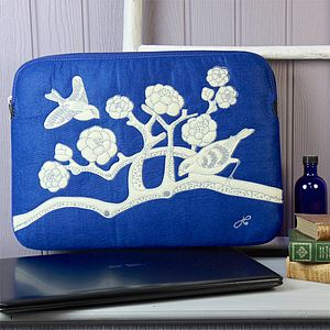 Jan Constantine China Blue Laptop Sleeve - view all sale items