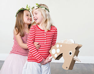 Make Your Own Unicorn Hobby Horse - outdoor toys & games