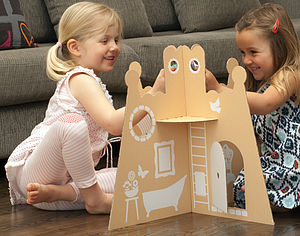 Make Your Own Princess Castle - traditional toys & games
