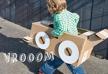 Cardboard Make Your Own Car