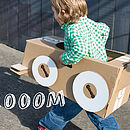 Cardboard Make Your Own Car